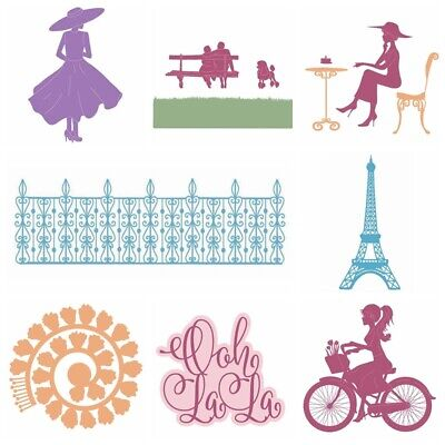Wonderful Life Metal Cutting Die Stencil For Scrapbooking Paper Cards Handcrafts