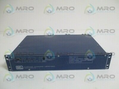 Sel Sel-221G-5 221G05-4256Mhnb Phase Distance Relay (As Pictured) *Used*