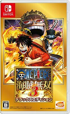 One Piece Pirate Warriors 3 Deluxe Edition Nintendo Switch Japanese Version