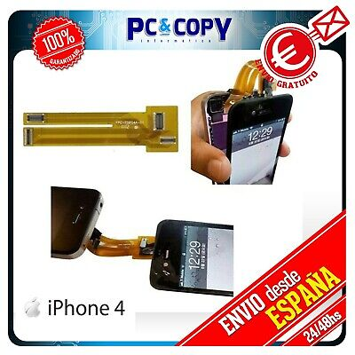 R21 Cable Flex Extensor Tester Pantalla LCD iPhone 4 4G 4S Comprobar screen