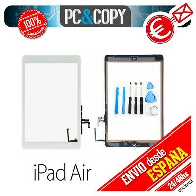 R1001 PANTALLA TACTIL IPAD AIR BLANCA TOUCH SCREEN iPadAir + ADHESIVO + HERRAMIE