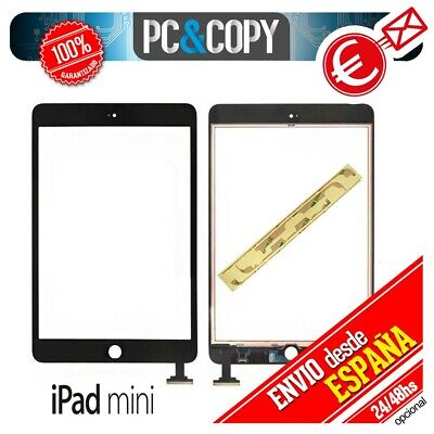 R241 PANTALLA TACTIL IPAD MINI 1 y 2 NEGRO TOUCH SCREEN iPadmini + ADHESIVO