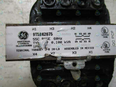 General Electric 9T58K2875 Industrial Control Transformer  *Used*