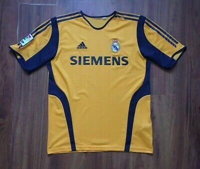 5c65984b0c0 Real Madrid Football Shirt 2005-2006 Goalkeeper Jersey Size M