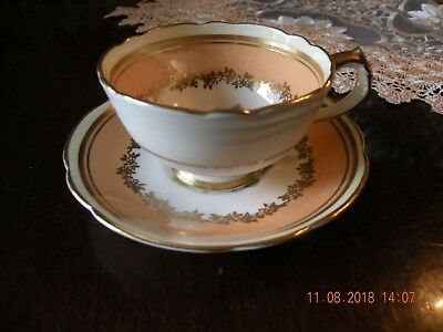 Paragon Queen Mary Bone China Demitasse Cup and Saucer - England DBLE WARRANT