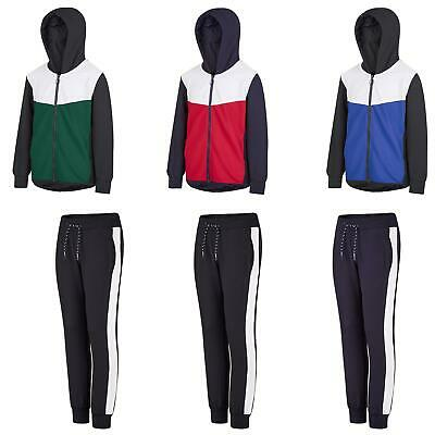 Kids Flute Material Top or Bottoms Boys Joggers Girls Hooded Jacket 134-164cm