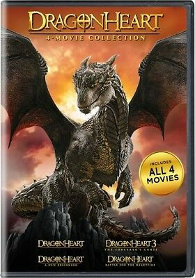Dragonheart: 4-Movie Collection (DVD,2017)