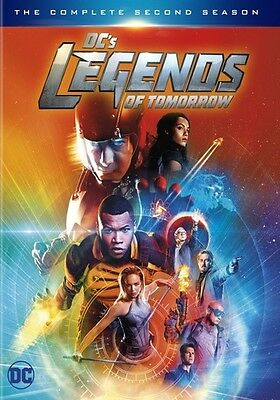 DC's Legends of Tomorrow: The Complere Second Season (DVD,2017) (ward631899d)
