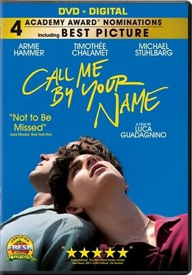 Call Me By Your Name (DVD,2017)