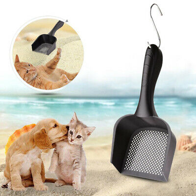 New Hollow Shovel Plastic Sand Scoop Pet Cat Litter Waste Scooper Cleaning Tool