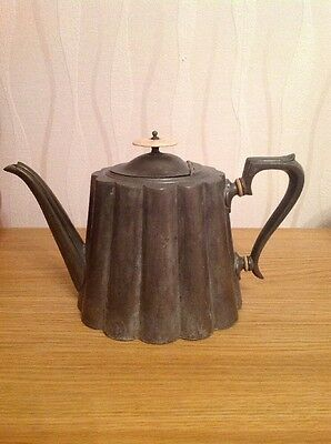 R.RICHARDSON 'Pewter Teapot' Edwardian, Very Good Condition