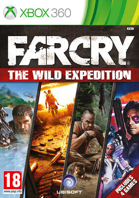Far Cry Wild Expedition Compilation (4 Games) XBOX 360 UBISOFT