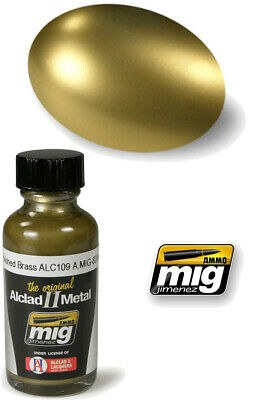 Alclad II Metal Polished Brass 8206 AMMO BY MIG JIMENEZ
