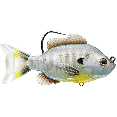 Live Target Swimbait SFS130MS563 Sunfish Bluegill Natural 5 Inch