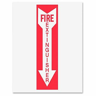 "Tarifold Safety Sign Inserts-fire Extinguisher - ""fire Extinguisher"" - White,"