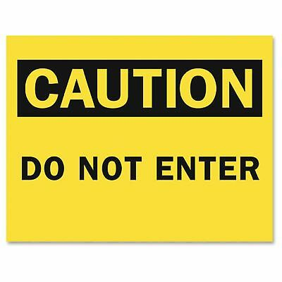 "Tarifold Safety Sign Inserts-caution Do Not Enter - ""do Not Enter"" - Paper -"