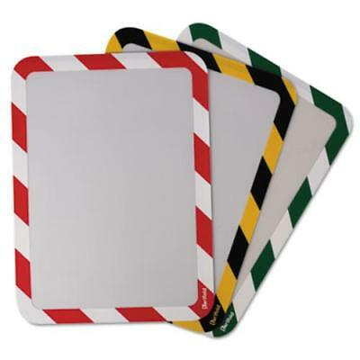 Tarifold Magneto Sign Frames With Inserts - 2 / Pack - Red, White (p194943)