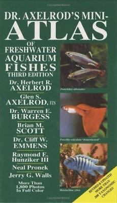 Dr Axelrod' Mini-Atlas of Freshwater Aquarium Fishes, , Good Book