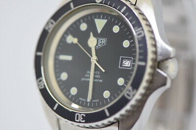 A rare early 1980s Heuer 980.006 Divers Watch with oversized 42mm case