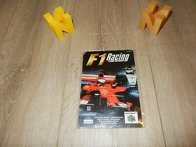 PAL N64: F1 Racing Championship Manual Only NO GAME Nintendo 64