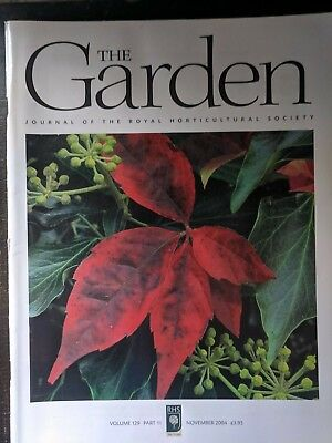RHS Royal Horticultural Society Journal - The Garden Magazine  - Back Issues.