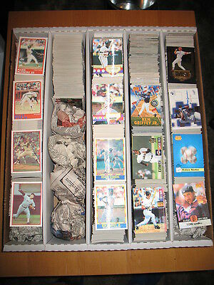 1987 88 90 94 Sportflics 1995 96 Sportflix Baseball Approximately 1305 Card Lot