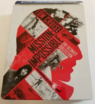 Mission: Impossible - Ultimate Collection Exclusive Steelbook (Blu-ray Discs)