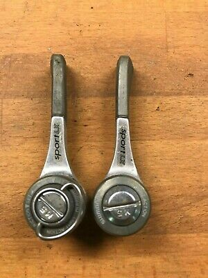 Vintage Shimano Exage Sport LX Light Action Downtube Shifters Indexed SIS A452