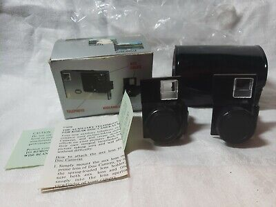 Focal Auxiliary Lens Set Kodak Disc Cameras Telephoto & Wideangle New Old Stock