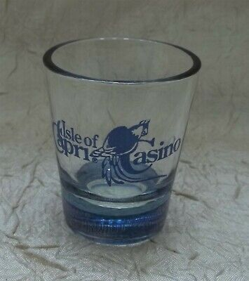 Isle Of Capri Casino Shot Glass
