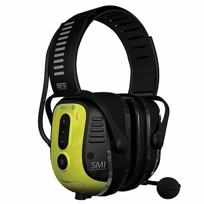 Sensear SM1 Two-Way Radio Headset w/Noise Canceling