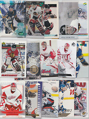 Dominik Hasek 38 Card Lot All Different With Inserts RC Rookie See Scans Sabres