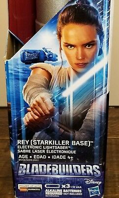 Star Wars The Force Awakens Rey Starkiller Base Electronic Lightsaber 22""