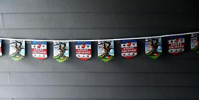 Angry Orchard Hard Cider New 22' Bar Banner Sign  . 20 Banners ... Beauty!!