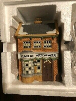 Department 56 Dickens Village - Geo Weeton Watchmaker