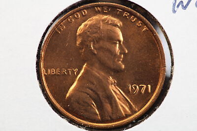 1971 Memorial Cent Double Die Obverse Mint Error