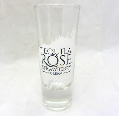 Tequila Rose Strawberry Cream shot glass