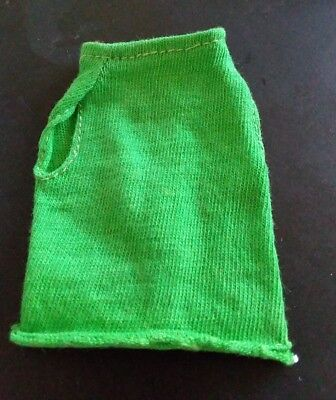 Vintage Barbie: FRANCIE #1234 The Combination Green Knit Top Very Hard to Find