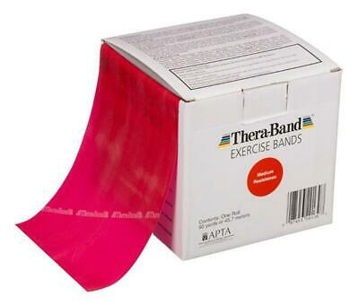 1 Red Thera-Band, Theraband Resistance Band, 6 Feet + Free Shipping !
