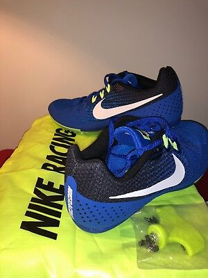 buy online 95db7 35742 New Nike Zoom Rival M 8 Men s Track Field Sprint Spikes 806555-413 Size 10.5