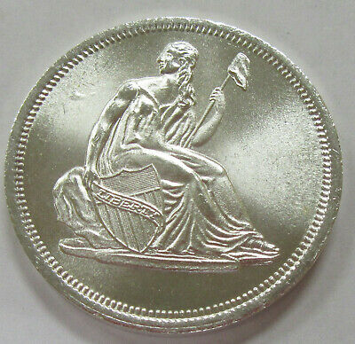 Let Freedom Ring 1 oz .999 Fine Silver Art Round