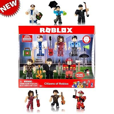 ROBLOX CITIZENS OF Roblox Action Figure Pack *BRAND NEW* - EUR 22,25