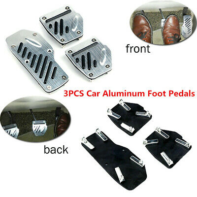 3xNon-slip Car Accelerator Pedal Foot Pedals Pad Cover Comfort For Brake Clutch