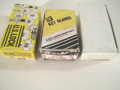 3 Boxes of Key Blanks. 2 Schlage and 1 Russwin.  New