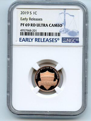 2019 S 1C Lincoln Cent NGC PF69UCAM Early Releases