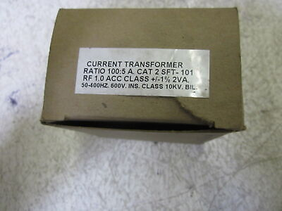 Current Transformer Sft-101 Ratio 100:5 Trasformer * New In Box *