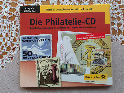 Philatelie CD 2001/2002 Deutsche Demokratische Republik