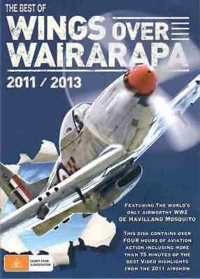 Best Of Wings Over Wairarapa 2011/2013 - Documentary DVD