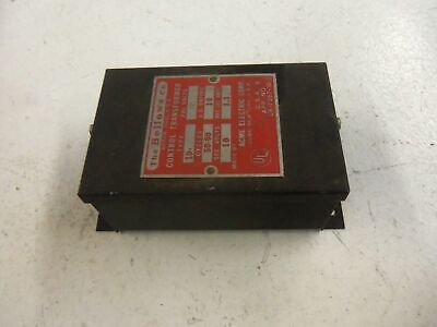 Acme Electric 10-1 *Used*