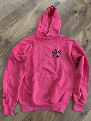Yungblud Limited Edition Pink Hoodie Large Be Fookin Happy